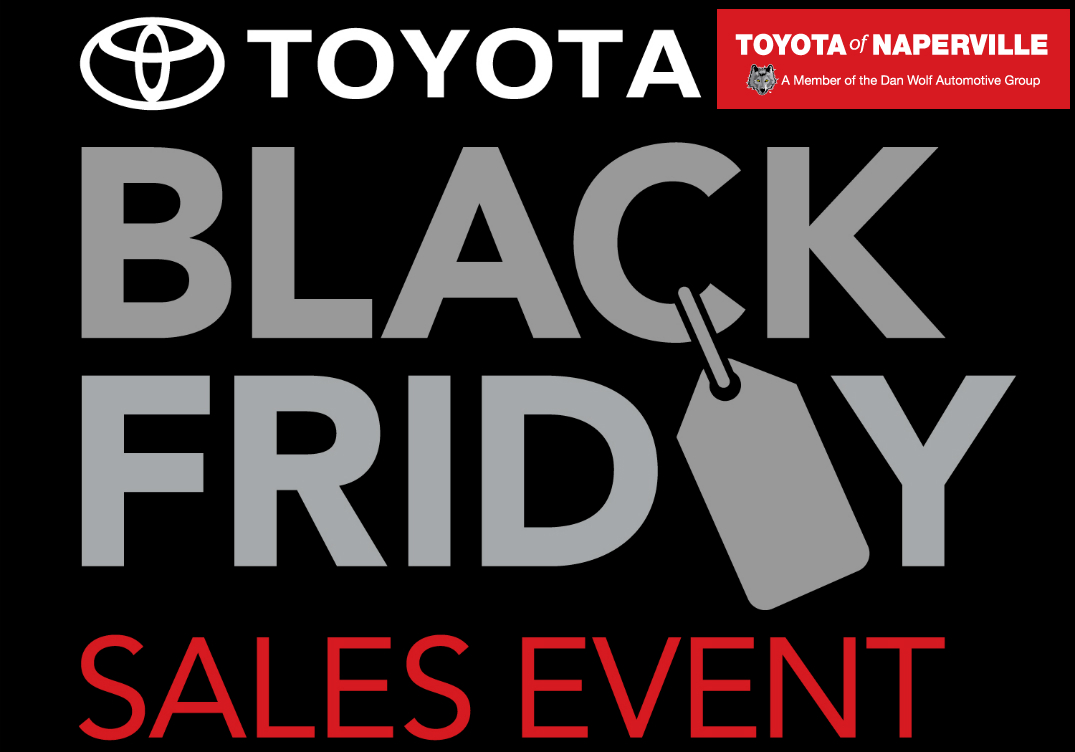 Toyota Black Friday Sale in Naperville, IL